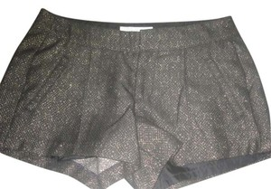 Old Navy Junior Teen Patterned Mini/Short Shorts Black/ Metallic Bronze