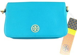 Tory Burch Saffiano Leather Cross Body Bag