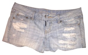 American Eagle Outfitters Denim Shorts-Distressed