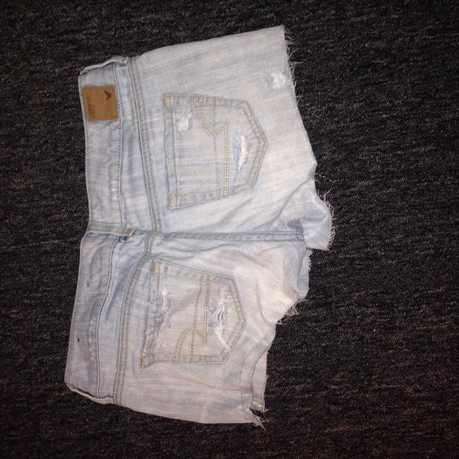 American Eagle Outfitters Denim Shorts-Distressed Image 1
