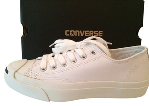 Converse Leather Jack Purcell Sneakers White Athletic