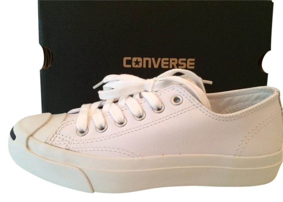 f4f8acde392 Converse White Jack Purcell Leather Sneakers Sneakers. Size  US 6.5 Regular  (M ...