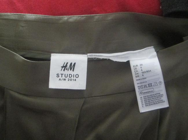 H&M Baggy Pants Olive Green
