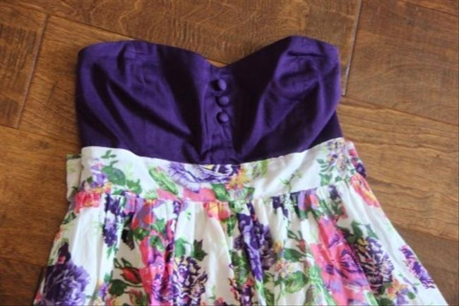Forever 21 short dress Purple on Tradesy