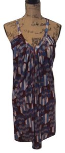 T-Bags Los Angeles short dress Blue / Multi on Tradesy