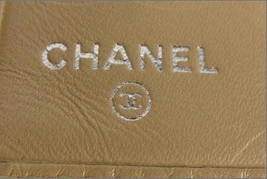 Chanel Chanel Wallet Cambon Tan Beige Black CC Quilted Lambskin CCWLM5