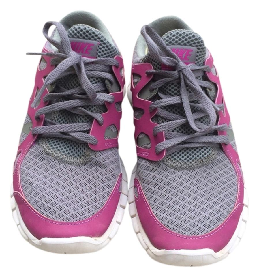 3666034dd5d9 Nike Free Run 2 Grey Pink Gym Clothes Workout Clothes Workout Crossfit  Running Athletic Image 0 ...