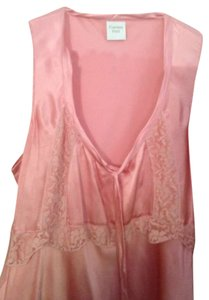 Garnet Hill Silk Top Pink