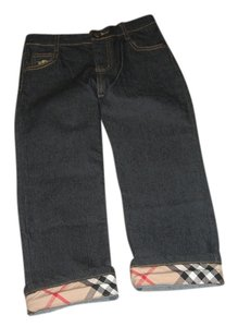 Burberry Relaxed Fit Jeans-Dark Rinse