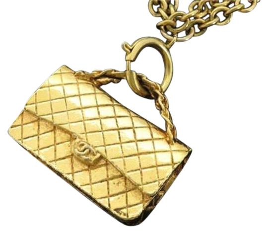 Chanel Chanel Classic Flap Necklace CCE02S 166548