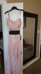 03fdd5da2c55 Vera Wang Blush Chiffon Vw360102 Formal Bridesmaid/Mob Dress Size 12 (L)