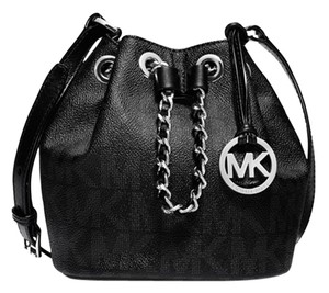 Michael Kors Mk Frankie Drawstring Cross Body Bag