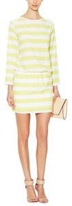 Alex + Alex short dress citron And Striped on Tradesy