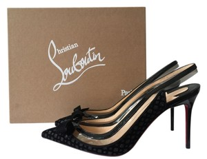 Christian Louboutin So Kate Decollete Iriza Black Pumps