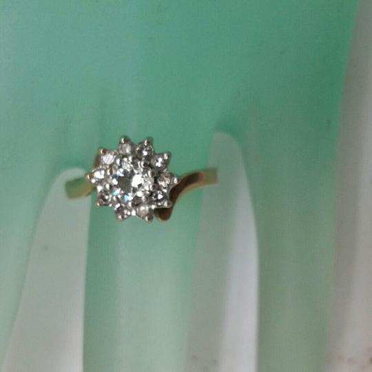Other $4830 Antique .73ct Old European Cut Diamond 14k 2-tone Gold Ring