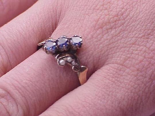 Preload https://img-static.tradesy.com/item/343476/victorian-12k-gold-genuine-blue-sapphires-and-pearl-late-1800s-ring-0-3-540-540.jpg