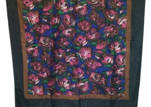 Dior Christian Dior Flower Abstract Design 100% silk 30x31