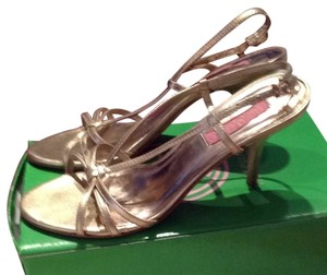 Lilly Pulitzer Gold Metallic Sandals
