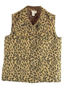 Coldwater Creek Tapestry Vest