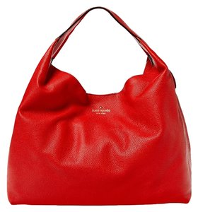 Kate Spade Leather Gold Hardware Classic New York Hobo Bag