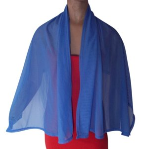 La Blanca BLUE LONG SCARF OR SHAWL