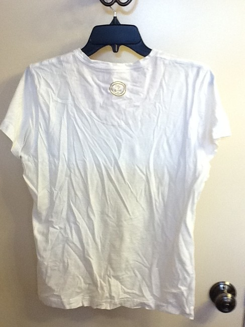 Life is Good Comfortable Flower Loose Fit Simple Soft Casual T Shirt White