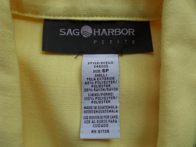 Sag Harbor Yellow Blazer