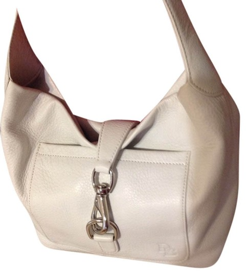 Preload https://item2.tradesy.com/images/dooney-and-bourke-bone-leather-shoulder-bag-3436381-0-0.jpg?width=440&height=440