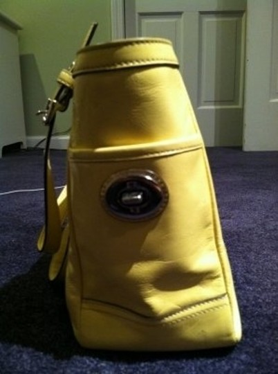 Coach Tote in Canary Yellow
