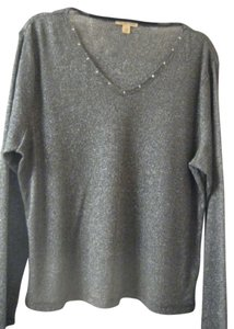Cha Cha Vente 60 Percent Polyester 20 Percent Rayon 20 Percent Metallic Machine Washable Sweater