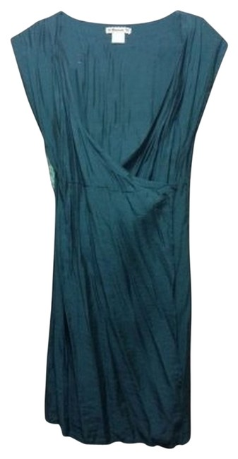 Preload https://item3.tradesy.com/images/forever-21-teal-lightweight-above-knee-short-casual-dress-size-8-m-34392-0-1.jpg?width=400&height=650