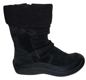 Earth Spirit Leather black Boots
