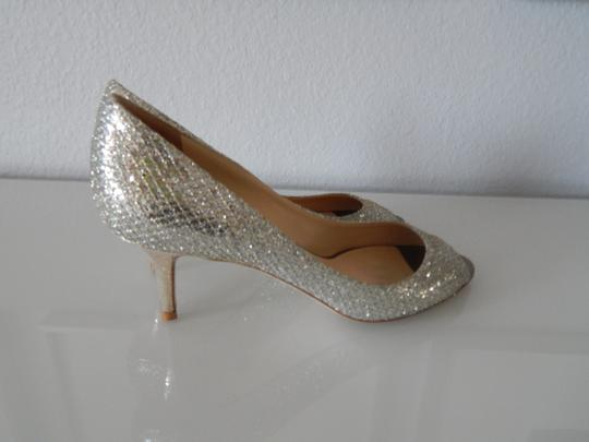 Jimmy Choo Silver Isabel Formal Size US 7