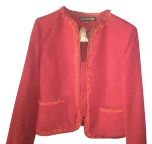 Albert Nipon Burgundy Blazer