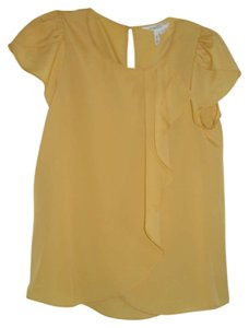 BCBGeneration Top Mustard/Yellow