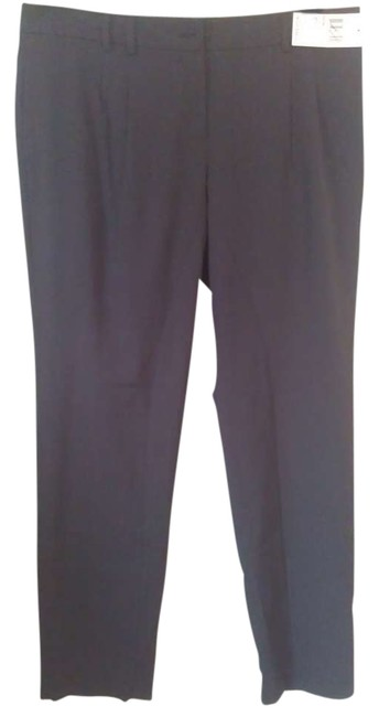 Michael Kors Trouser Pants Black with Pinstrips