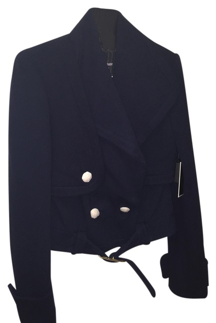 Juicy Couture Nautical Light Spring Navy Blue Jacket