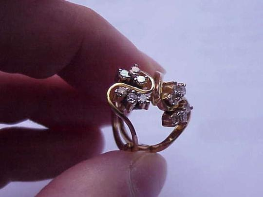 Other Estate Vintage 14k Yellow Gold 1.00ct Diamond Earrings, 1950s