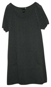 Sweaterworks short dress Coal Heather on Tradesy