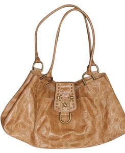 Kate Landry Satchel in Tan Leather