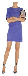 Victoria Beckham short dress Blue (indigo) on Tradesy