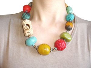 Other Multi stone chunky necklace