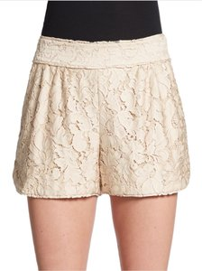 Diane von Furstenberg Dvf House Of Dvf Lace Dress Shorts Beige