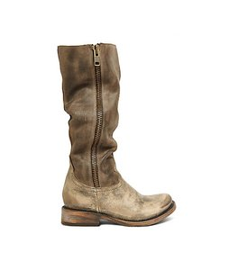 FreeBird By Steven's Distressed Brown Brusel Grey Boots