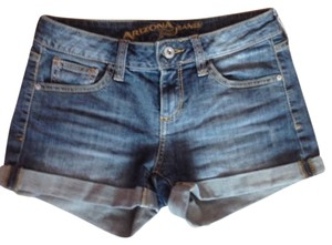 Arizona Jean Company Denin Free Shipping Comfortable Gently Used Denim Shorts-Dark Rinse