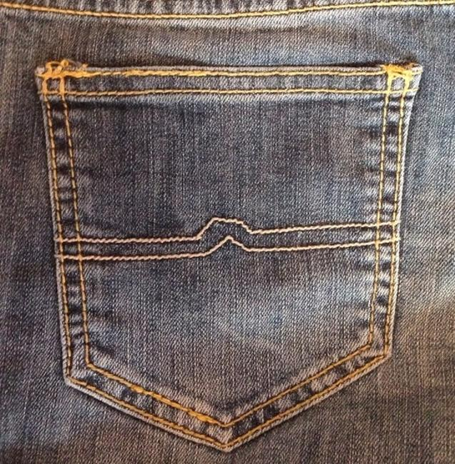 Arizona Jean Company Free Shipping Comfortable Gently Used Denim Shorts-Dark Rinse