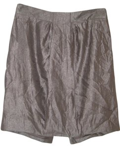 Ann Taylor Skirt Metallic