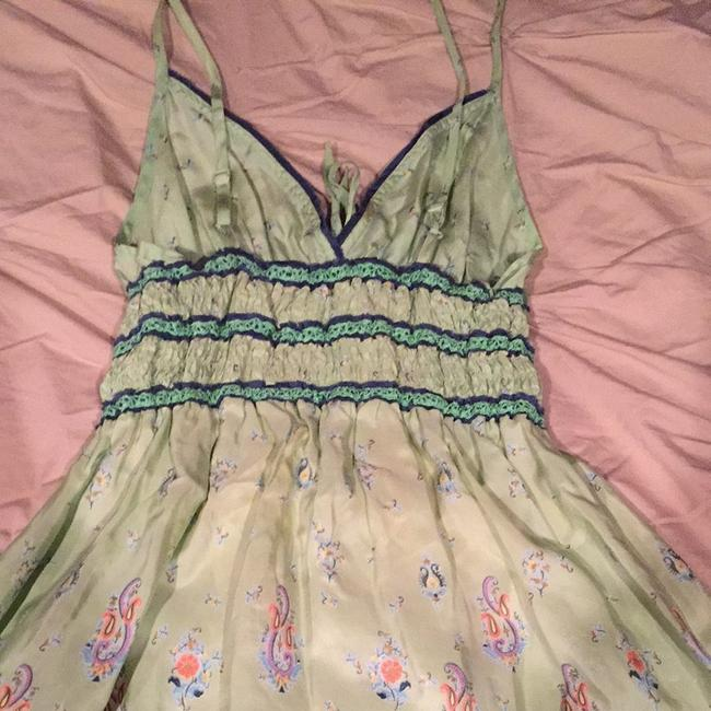 Free People short dress Seafoam Greens And Navy on Tradesy