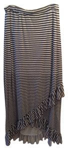 Romeo & Juliet Couture Skirt Brown Stripe