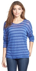 Bobeau Striped Comfortable Sweater